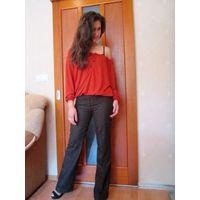 Девочки, стоп. Шикарно, стильно. офисные брюки европейский р. 38-наш 44-46