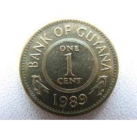 Гайана 1 цент 1989 г.