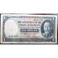 Стрейтс-Сетлментс, 1 доллар 1935 год, Р16