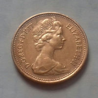 1 пенни, Великобритания 1977 г.