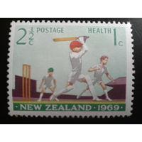 Новая Зеландия 1969 крикет