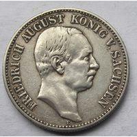 Германия, Саксония, 2 марки, 1908, серебро