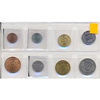Исландия комплект монет (8 шт.) 1956-1978 гг.