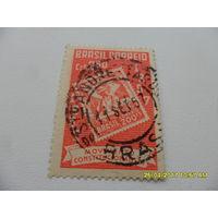 Марка Бразилии - стандарт 1957 год, из коллекции