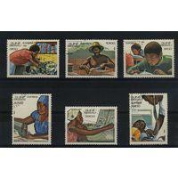 Гвинея-Бисау 1984г, работа, 6м.