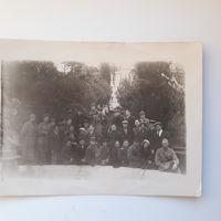 Фото сотруднии нквд и летчик пограничной авиации СТАРОСТИН 30 годы санаторий НКВД(А, 12)