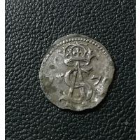 Двуденарий 1570 (штемпель Платини)