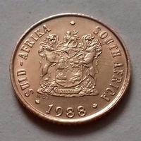 1 цент, ЮАР 1988 г., AU