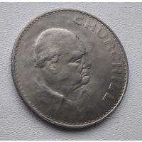 Великобритания 5 шиллингов, 1965 Cэр Уинстон Черчилль 6-10-18