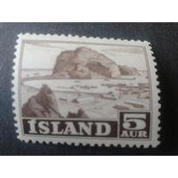Исландия 1954 природа