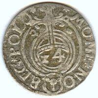 Польша, полторак/ Poltorak (Crown) 1626 года, м.д. Bromberg, (3-я монета)