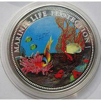 Палау, 5 долларов, 1994, серебро, пруф