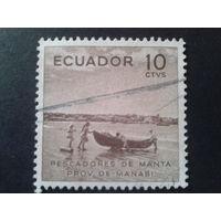 Эквадор 1955 лодка