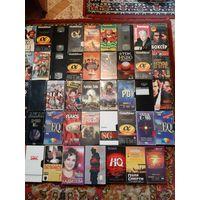 Коллекция  видеокассет .
