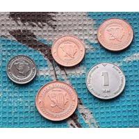 Босния и Герцеговина набор монет 5, 10, 20, 50 феннингов, 1 марка.