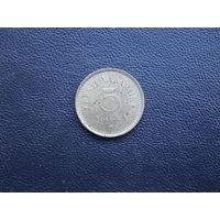 5 марок 1922. Эстония. С 1 рубля