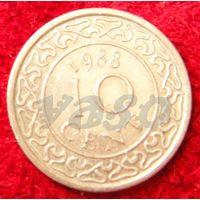7226:  10 центов 1988 Суринам