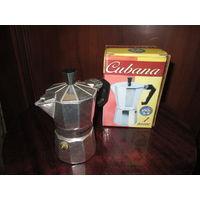 Кофеварка гейзерная CUBANA.Новая.