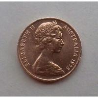 1 цент, Австралия 1975 г.