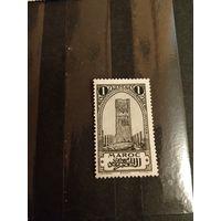 1917 французская колония Марокко архитектура чистая без клея без дыр (2-13)