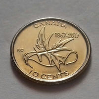 10 центов, Канада 2017 г., UNC