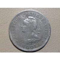 Ангола португальская 50 сентаво 1927г