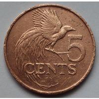 Тринидад и Тобаго, 5 центов 1979 г.