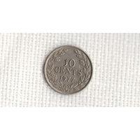 Либерия 10 центов 1977 //(МJ)