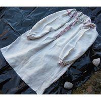 Сорочка домотканая льняная (рубашка, вышиванка), н. 1880-х гг.