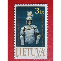 Литва 1999г. Доспехи рыцаря.