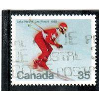 Канада. Ми-759. Горный лыжник Серия: Зимние Олимпийские игры, Лейк-Плэсид, США. 1980