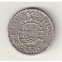 Мозамбик 2,5 эскудо 1965