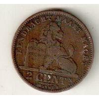 Бельгия 2 сантим 1905