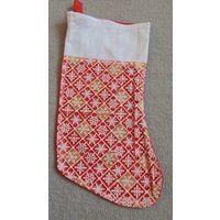 Носок для подарков новогодний