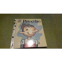 Детские книги на английском языке - Пиноккио - Walt Disney's - Pinocchio