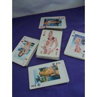 Карты игральные(девушки в купальниках).лот 2