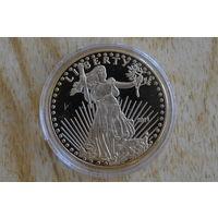 """США 50 долларов 2011 """"Шагающая свобода"""""""