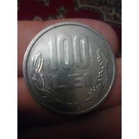 100 лей 1991 г. Румыния.