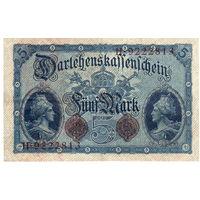 Германия 5 марок, 1914 г. Состояние!