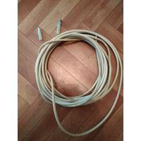 ТВ кабель (8,5м.СССР+2штекера)