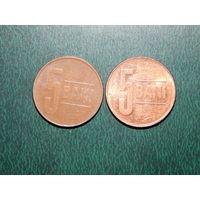 Румыния 5 бани цена за монету (список)