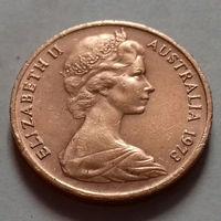 1 цент, Австралия 1973 г.