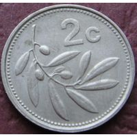 2815:  2 цента 1991 Мальта