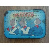 Коробка пионер зубной порошок ссср