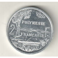 Французская Полинезия 2 франк 2012