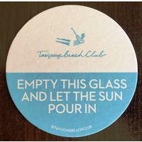 Подставка под пиво Tanjongbeach Club