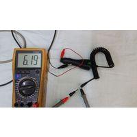 Переходник NOKIA (для телефона)  12 вольт на 5 вольт для авто .