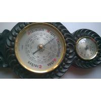 Барометр+термометр+гигрометр ГДР.