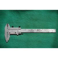 Штангенциркуль  250 мм   ( рабочий , губки в 0 , комплектный )