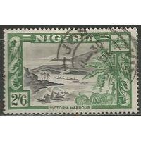 Нигерия. Гавань Виктория. 1953г. Mi#80.